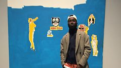 Kojey Radical explores 'Basquiat: Boom for Real' exhibition