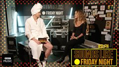 Rita Ora gets a surprise on SLFN