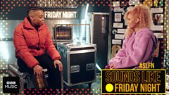 Dotty chats with Raye backstage at Sounds Like Friday Night
