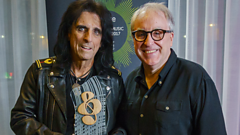 Watch an exclusive interview with Alice Cooper