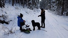 Anne Hilde Neset and field recordist Jana Winderen head out into the forests of Oslo to see what lies beneath the snow
