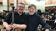 Conductor Sir Andrew Davis and cellist Paul Watkins introduce Finzi's Cello Concerto