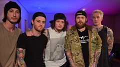 Asking Alexandria In Session At Maida Vale