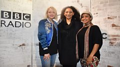 Sister Sledge join Lauren in the studio
