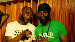 Bugle chats with Seani B at Big Yard Studios in Jamaica