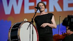 The BBC Scottish Symphony Orchestra and Karine Polwart perform the stirring I Burn But I Am Not Consumed