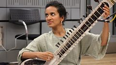 Anoushka Shankar and Nitin Sawhney perform a haunting duet in tribute to their fathers.