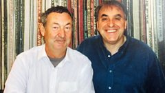 Billy chats to Pink Floyd drummer Nick Mason