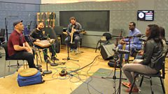 Syria meets Mali in the Music Planet studio
