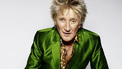 Who does Rod Stewart call to test out his new material?
