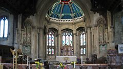 "Who called St Martins, Gospel Oak ""the craziest of Victorian churches""?"