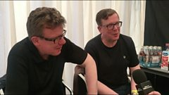 The Proclaimers interviewed at Lakefest