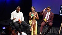 Idris Elba, Aml Ameen and Shantol Jackson discuss 'YARDIE' movie - set in '70s Kingston (Jamaica) and '80s Hackney (London)