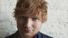 Ed Sheeran chats to Jo Whiley and Simon Mayo