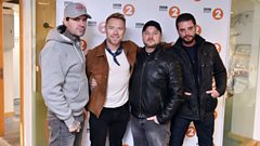Boyzone perform live...