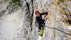 Thomas Larcher on rocks falling in the Tyrol