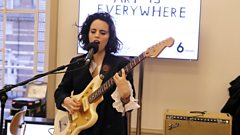 Anna Calvi performs Hockney-inspired 'Swimming Pool' for Art is Everywhere
