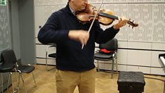 Pure, simple and beautiful - Bach performed by James Ehnes.