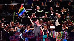 Rule, Britannia! with Jamie Barton and rainbow flag (excerpt)