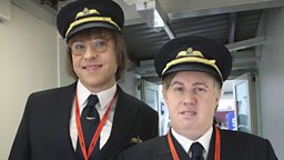 bbc one come fly with me characters