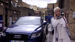 photo of Judi Dench Jaguar - car