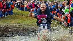 Wife-carrying race