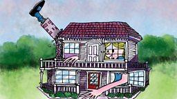 Alice in Wonderland: Part 4: The White Rabbit's house