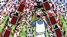 Alice in Wonderland: Part 10: Alice's evidence