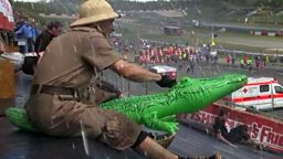 Obstacle race in Germany
