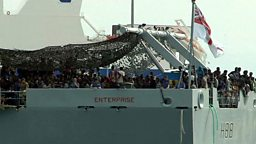 Smugglers' boats, Iraqi drama and a miracle operation 贩运移民船,孤儿演话剧和奇迹手术