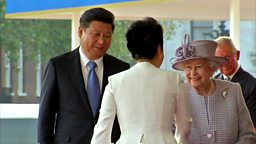 President Xi Jinping in the UK,  Syrian conflict and Tutankhamun's beard 习近平主席访英、  叙利亚冲突和图坦卡蒙的胡须
