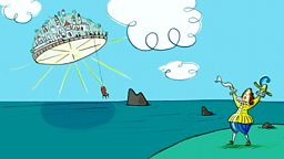 Gulliver's Travels: Part 7: Island in the sky