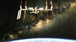 Working in space 在太空中工作
