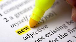 Improving your vocabulary 增加词汇量