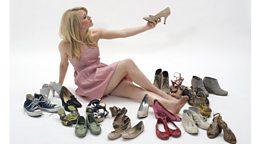 """Shopping for 'shoes' 不同种类的""""鞋"""""""