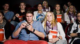 Mobiles at the movies 在电影院里玩手机