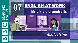 Mr Lime's grapefruits