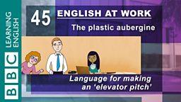 The plastic aubergine