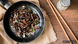 Bugs for lunch? 昆虫大餐