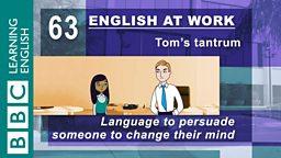 Tom's tantrum