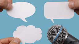 "Say, speak, talk, tell ""说""不同"