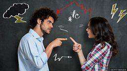 """Argue, quarrel, debate 三个表示""""争论、争吵""""的单词"""