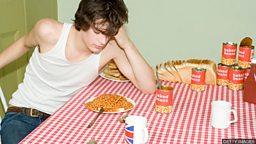 A student diet 英国学生的日常饮食
