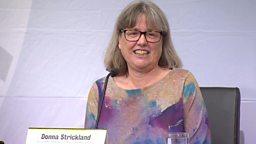 First woman Physics Nobel winner in 55 years 五十五年来首位女性获诺贝尔物理学奖