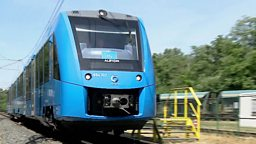 Train of the future 未来的氢能火车