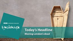 Moving London's dead