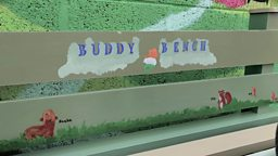 "Using Buddy Benches to improve mental health 用 ""好友长凳"" 改善儿童心理健康"