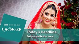 Bollywood bridal wear