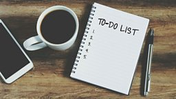 What's on your to-do list?