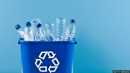 Turning plastic waste into sportswear 把塑料垃圾变成运动服装
